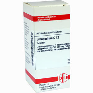Abbildung von Lycopodium C12 Tabletten 80 Stück