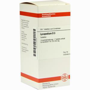 Abbildung von Lycopodium D3 Tabletten 200 Stück