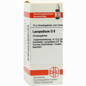 Abbildung von Lycopodium D8 Globuli 10 g