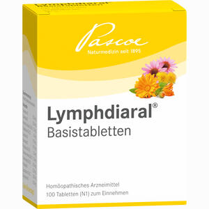 Abbildung von Lymphdiaral Basistabletten  100 Stück