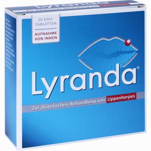 Abbildung von Lyranda Kautabletten 20 Stück