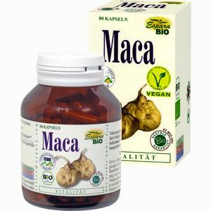 Abbildung von Maca Bio Kapseln 80 Stück