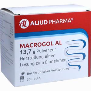 Abbildung von Macrogol Al 13,7g Pulver zur Herstellung einer Lösung Zum Einnehmen  30 Stück