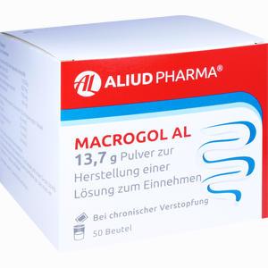 Abbildung von Macrogol Al 13,7g Pulver zur Herstellung einer Lösung Zum Einnehmen  50 Stück