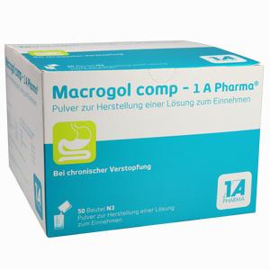 Abbildung von Macrogol Comp - 1 A Pharma Pulver  50 Stück