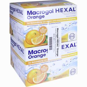 Abbildung von Macrogol Hexal Orange Beutel 100 Stück