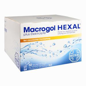 Abbildung von Macrogol Hexal Plus Elektrolyte Pulver 50 Stück