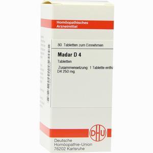 Abbildung von Madar D4 Tabletten  80 Stück