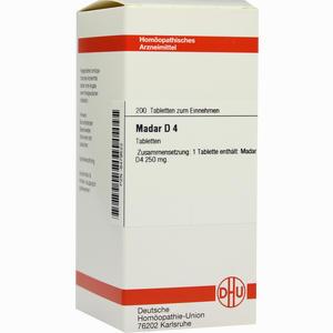 Abbildung von Madar D4 Tabletten 200 Stück
