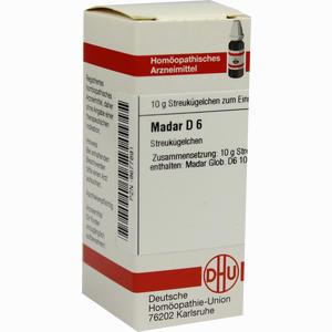 Abbildung von Madar D6 Globuli 10 g