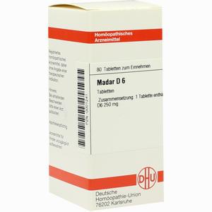 Abbildung von Madar D6 Tabletten 80 Stück