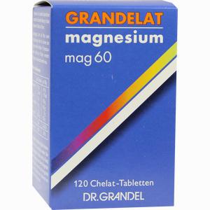 Abbildung von Mag 60 Grandelat Tabletten 120 Stück