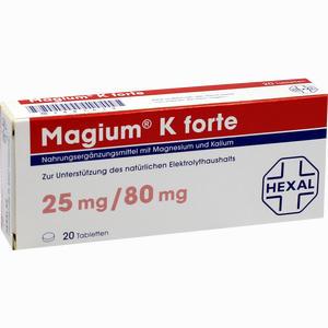 Abbildung von Magium K Forte Tabletten Filmtabletten 20 Stück