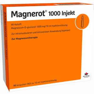 Abbildung von Magnerot 1000 Injekt Ampullen 10 x 10 ml