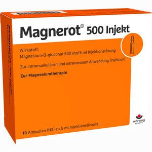 Abbildung von Magnerot 500 Injekt Ampullen 10 x 5 ml