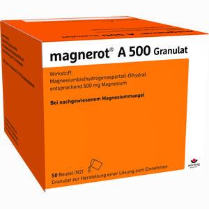 Abbildung von Magnerot A 500 Granulat 50 Stück