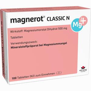 Abbildung von Magnerot Classic N Tabletten 100 Stück