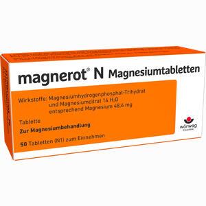 Abbildung von Magnerot N Magnesiumtabletten  50 Stück