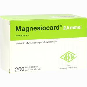 Abbildung von Magnesiocard 2.5 Mmol Filmtabletten  200 Stück