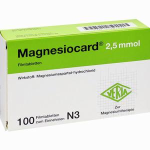 Abbildung von Magnesiocard 2.5mmol Filmtabletten 100 Stück
