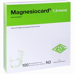 Abbildung von Magnesiocard 7.5 Mmol Brausetabletten 100 Stück