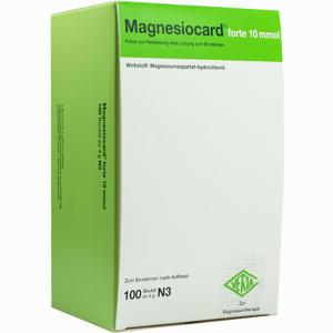 Abbildung von Magnesiocard Forte 10 Mmol Pulver 100 Stück