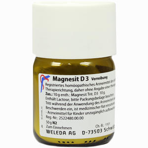 Abbildung von Magnesit D3 Trituration 50 g