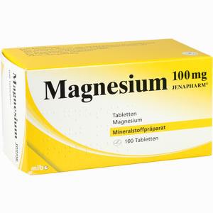 Abbildung von Magnesium 100mg Jenapharm Tabletten 100 Stück