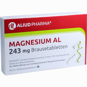 Abbildung von Magnesium Al 243mg Brausetabletten  60 Stück