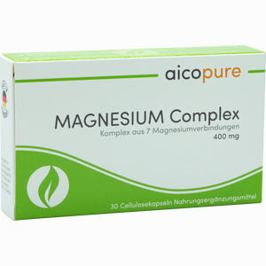 Abbildung von Magnesium Complex 400 Mg Kapseln  30 Stück
