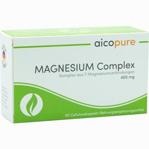 Abbildung von Magnesium Complex 400 Mg Kapseln  60 Stück