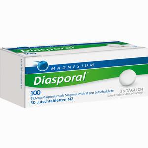 Abbildung von Magnesium Diasporal 100 Lutschtabletten  50 Stück