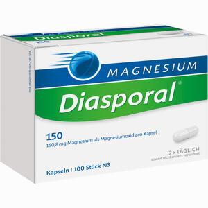 Abbildung von Magnesium Diasporal 150 Kapseln 100 Stück