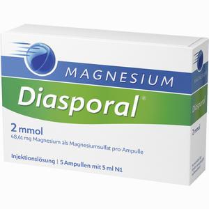 Abbildung von Magnesium Diasporal 2mmol Ampullen  5 x 5 ml