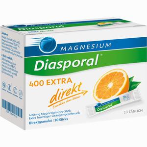 Abbildung von Magnesium- Diasporal 400 Extra Direkt Granulat 20 Stück