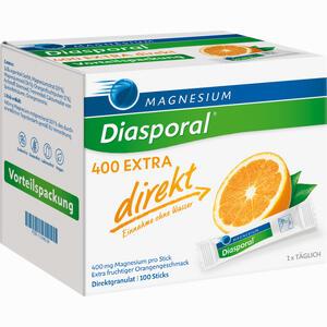 Abbildung von Magnesium- Diasporal 400 Extra Direkt Granulat 100 Stück