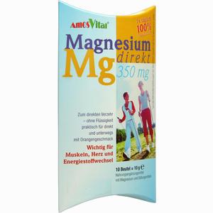 Abbildung von Magnesium Direkt 350mg Beutel 10 Stück