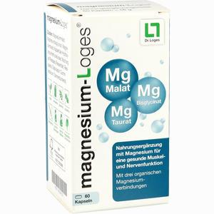 Abbildung von Magnesium- Loges Kapseln 60 Stück