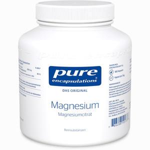 Abbildung von Magnesium (magnesiumcitrat) Kapseln 180 Stück