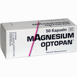 Abbildung von Magnesium Optopan Kapseln 50 Stück