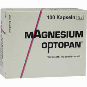 Abbildung von Magnesium Optopan Kapseln 100 Stück