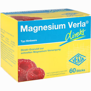 Abbildung von Magnesium Verla Direkt Himbeere Granulat 60 Stück