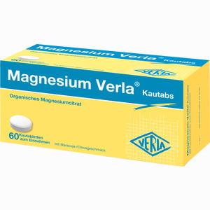Abbildung von Magnesium Verla Kautabs Kautabletten 60 Stück