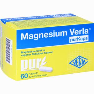 Abbildung von Magnesium Verla Purkaps Vegane Kapseln Zum Einnehmen  60 Stück