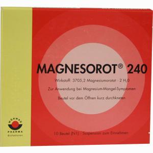 Abbildung von Magnesorot 240 Beutel 10 Stück