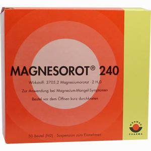 Abbildung von Magnesorot 240 Beutel 50 Stück