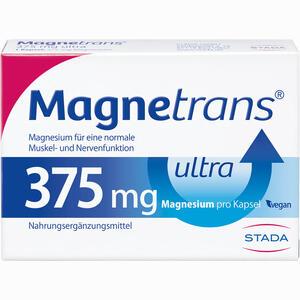 Abbildung von Magnetrans 375mg Ultra Kapseln  20 Stück