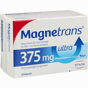 Abbildung von Magnetrans 375mg Ultra Kapseln  50 Stück