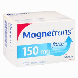 Abbildung von Magnetrans Forte 150mg Kapseln 100 Stück