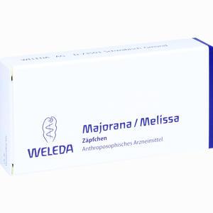 Abbildung von Majorana/melissa Zäpfchen  10 Stück